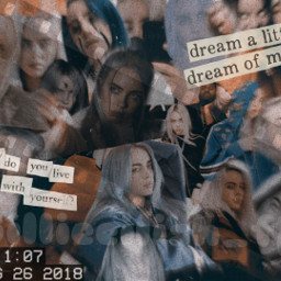 back billie billieeilish eilish old freetoedit