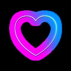 freetoedit scneons neons neon heart ftestickers