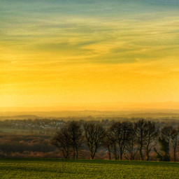 bretagne travel landscape sunset