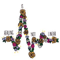 flowers healing words freetoedit