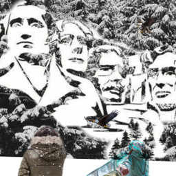 freetoedit mountvernon presidentsday presidents eagles ircwinterforest
