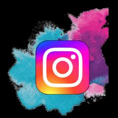 instagram logo pastel business freetoedit