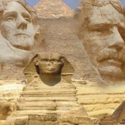 freetoedit presidents mountrushmore pyramids giza ircpresidentsday