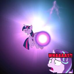 freetoedit mlp starlightglimmer princesstwilightsparkle eqg3