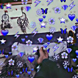 freetoedit glitch aesthetic arianator holographic