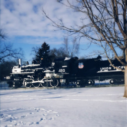 winterscenes winterscape travel railroad trains