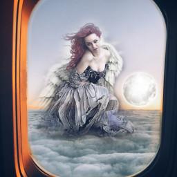 freetoedit moongirl moon sky ircfaketravel