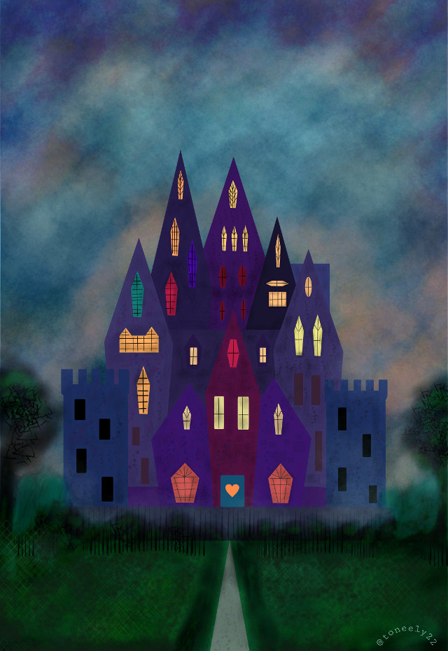 My Castle for #dccastles I hope you like it and Vote. 😊🏰 #castle #art #contest