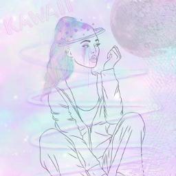 freetoedit girl galaxyhair galaxygirl galaxy irclorengrayfanart
