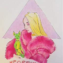 poppy amiagirl pink cat impoppy