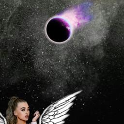 freetoedit night star universe girls srcetherealplanet