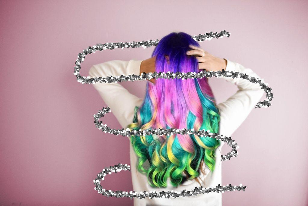#freetoedit #colorfulhair #rainbowhair #hashtag #colourfulhair #socolorful #colorful #girl #cooledits😎😉😍😘🤗🤩😆