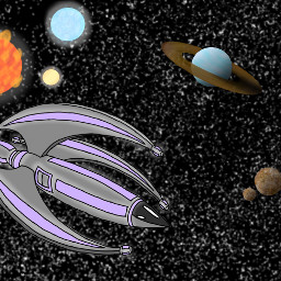 starship space stars planets sciencefiction dcspaceship