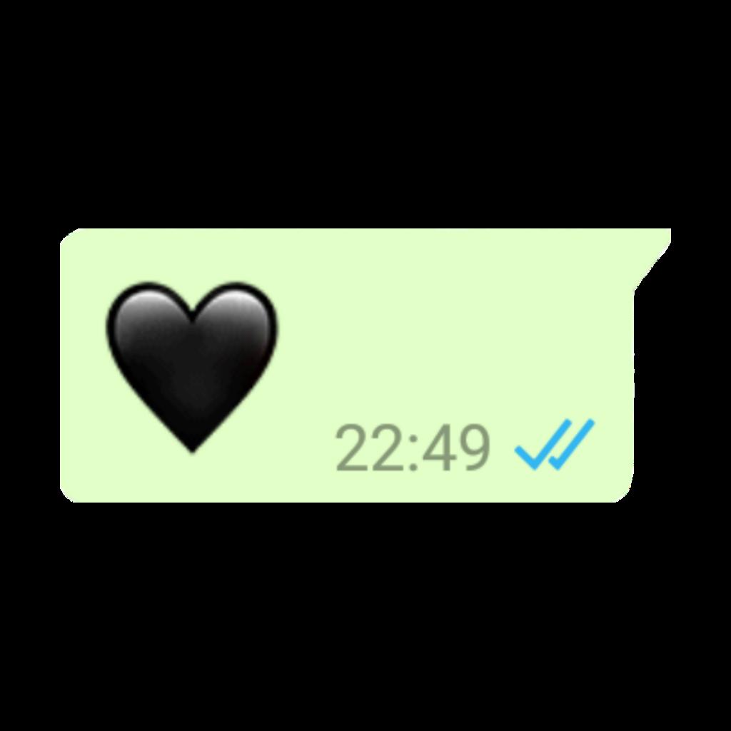 #heart#heartblack#message#whatsapp#blackheart
