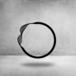 freetoedit black circle ring frame ftestickers