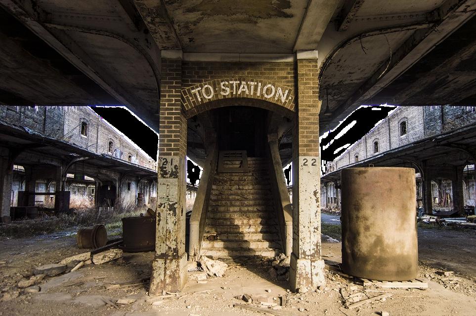 #station#trainstation #mattepainting #thehurricaneproductions
