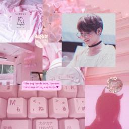 moodboard jungkook edit pink soft