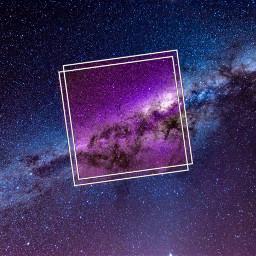 freetoedit space universe frame cool ircpurplegalaxy