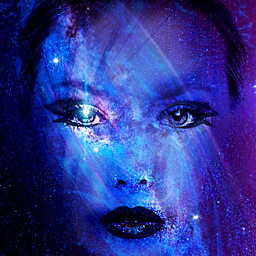 myoriginalwork originalart womanportrait conceptualart colorful scifi ircpurplegalaxy