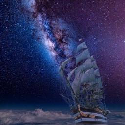 freetoedit clouds ship ircpurplegalaxy purplegalaxy
