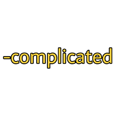 yellow text complicated freetoedit