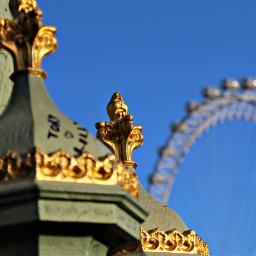 freetoedit londoneye ferriswheel blue sky