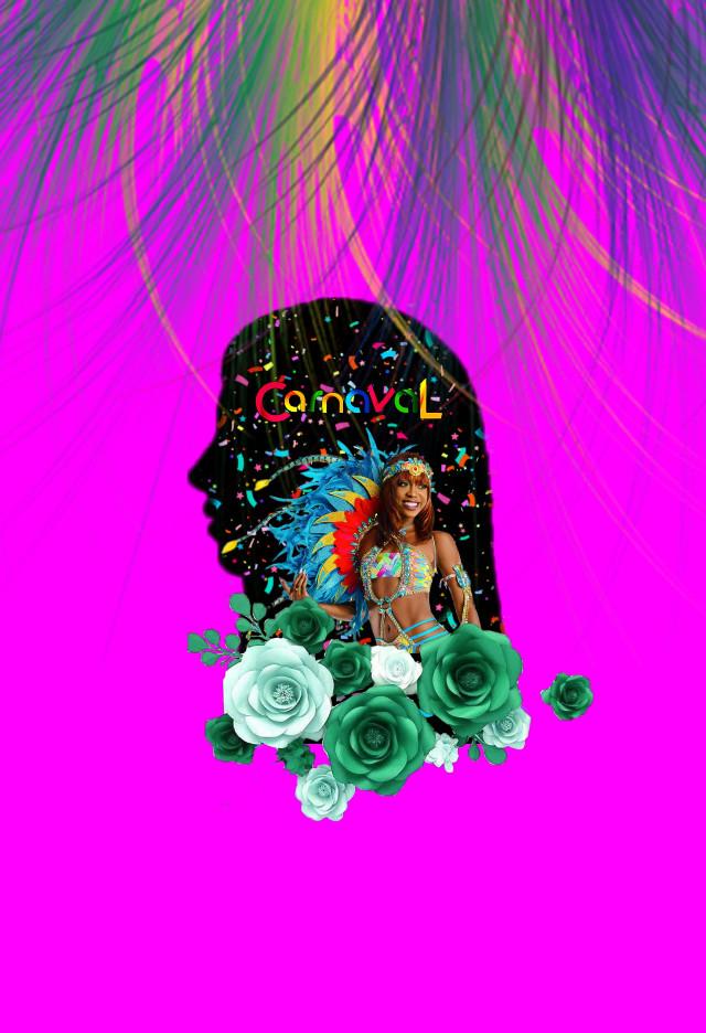 #freetoedit #carnaval #girl #colors #pink #fun #rio