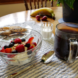 foodphotography breakfast yogurt coffee lifestyle freetoedit pcbreakfast