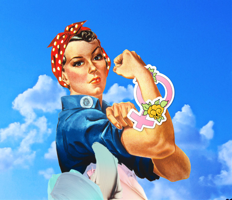 #freetoedit #WeCanDoIt #feminism #girlpower #internationalwomensday #feminist #feministpower