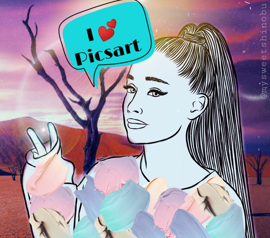 #freetoedit #iheartpicsart #picsartlove #picsart #arianagrande