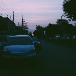 freetoedit citylights cars eveningphotography urban
