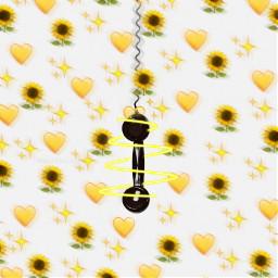 freetoedit voted hearts yellow picsart ircringring