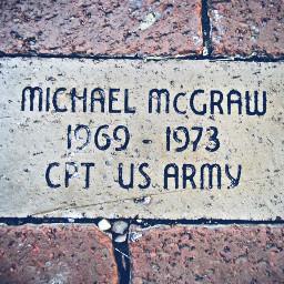 brickofhonor usarmy armycaptain veteran soldiersandsailorsmonument