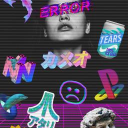 chill vaporwave aesthetic remix color freetoedit