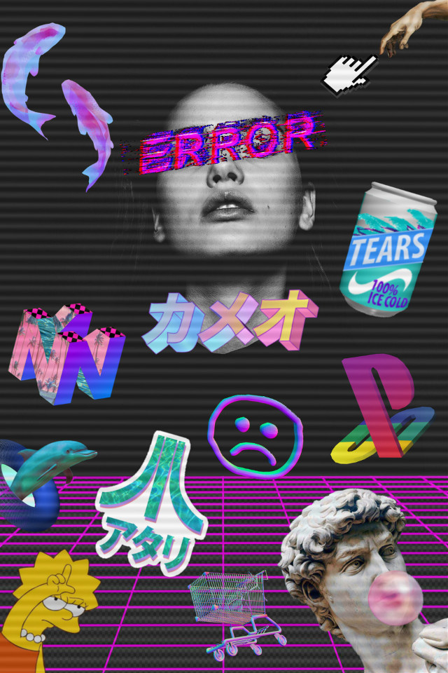 #chill #vaporwave #aesthetic #remix #color #colors #error #darkside
