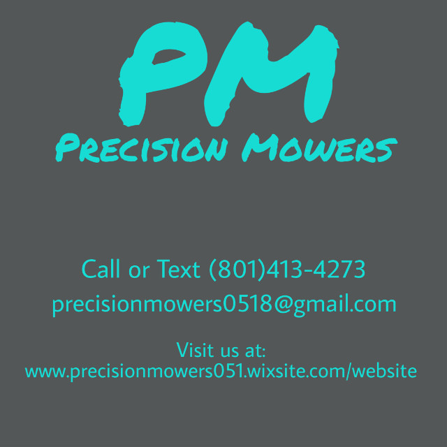 #pm #precisionmowers