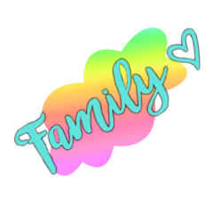 family love son daughter rainbow freetoedit