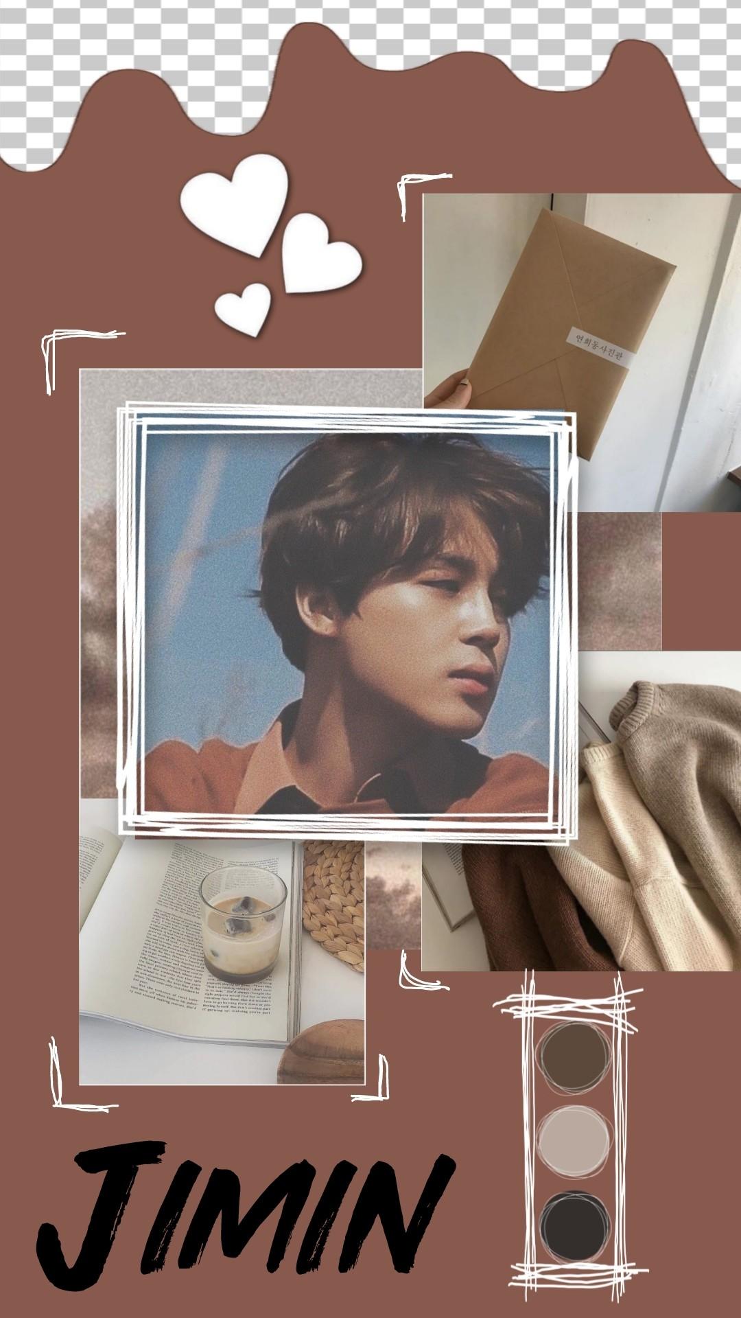 bts wallpaper aesthetic brown edit ...