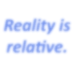 reality relative perspective freetoedit