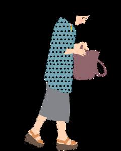 girl walking outfit freetoedit