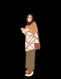 hijab outfit girl freetoedit