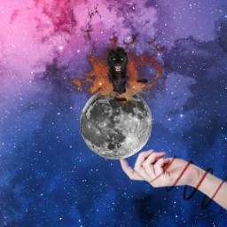 freetoedit srcpanthers black blaze moon