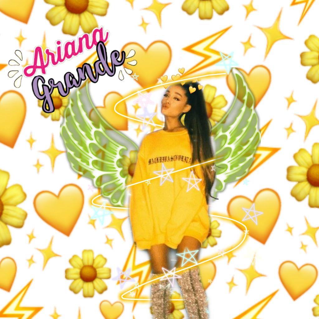 #freetoedit Ariana Grande