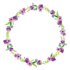 aesthetic floral frame circleframe cute freetoedit