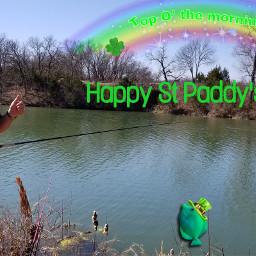 stpaddysday fishing remixit relaxingday sundayfunday freetoedit