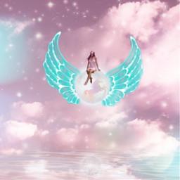 freetoedit unicorn magical wings glitter srcwings