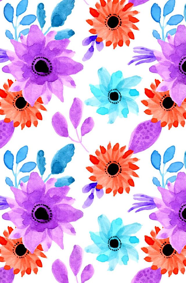 #freetoedit #wallpaper #background #floralpattern #seamless #watercolors #colorful #hdr1 #adjusttools #myedit #madewithpicsart