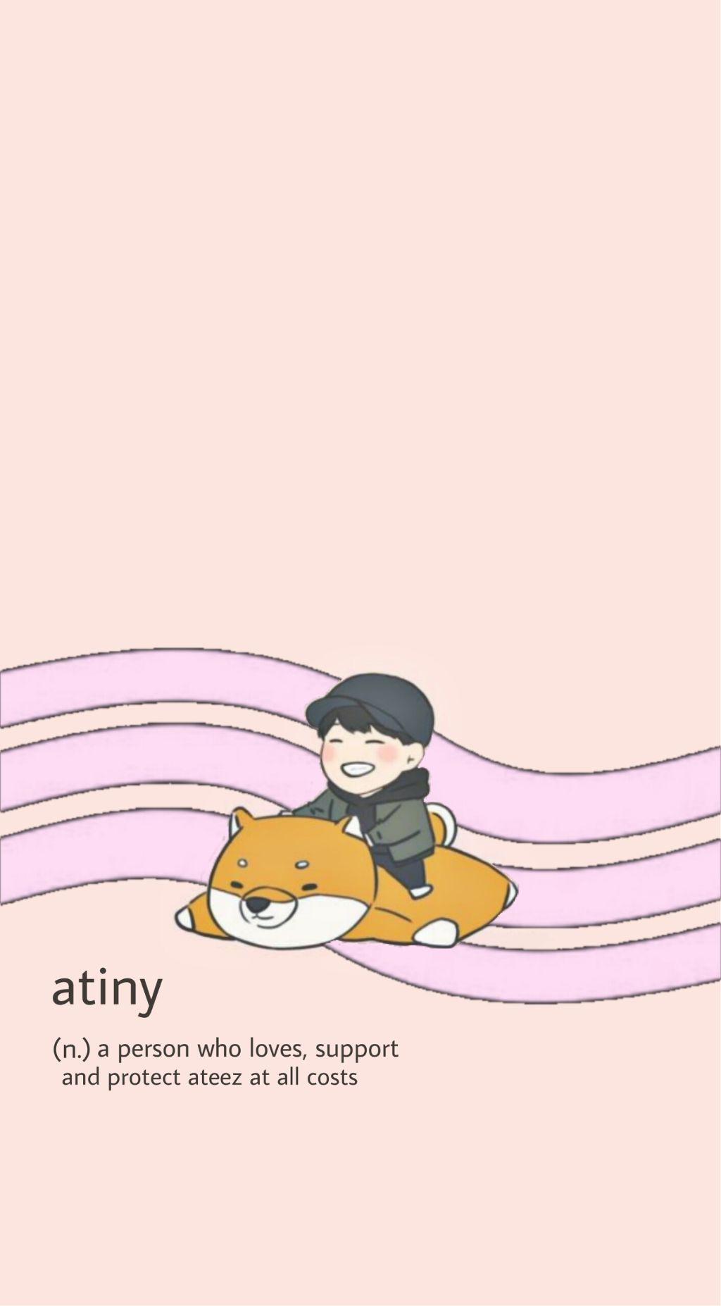 Ateez San Wallpaper Kpop Choisan Cute Aesthetic