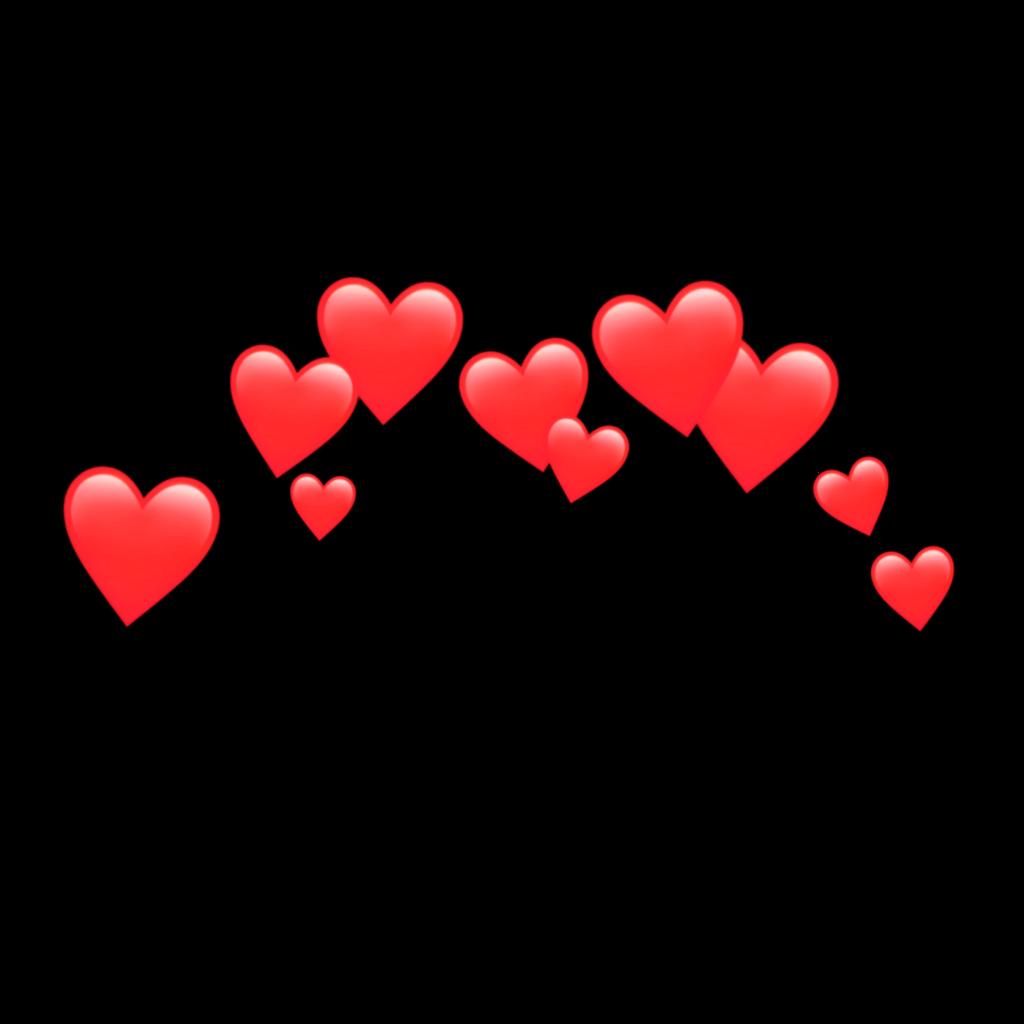 Red Redemoji Red Heart Heart Hearts Emoji Emojis Sticke