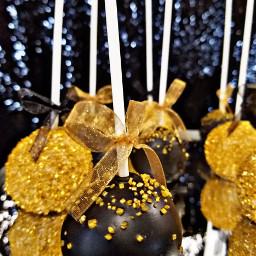 freetoedit chocolatecakepops party gold dessert pcchocolate